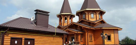 В Белгороде появился новый храм покрашеный BIOFA